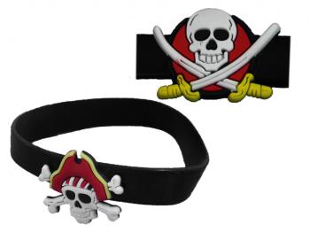 Piraten Silikonarmband