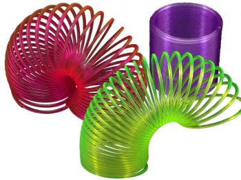 Neon-Springspirale