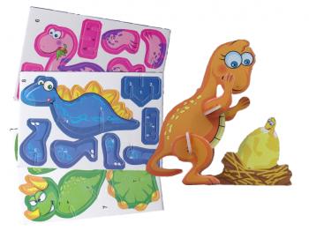3D Puzzle Dinos