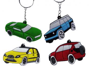 Soft Auto an Schlüsselkette