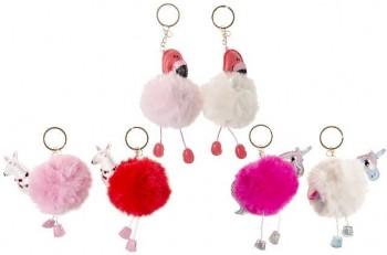 Flamingo, Einhorn und Lama mit Plüschkörper an SK