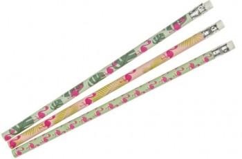 Bleistift mit Radierer Flamingo