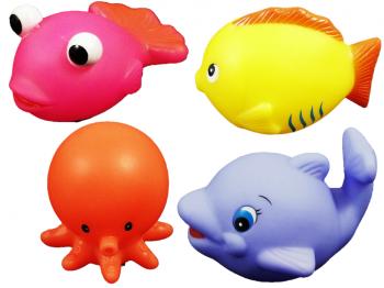 bunte Wassertiere