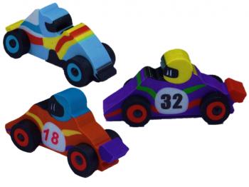 3D Radierer Rennwagen