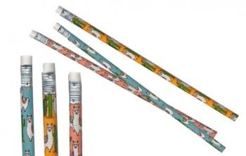 Bleistift mit Radierer Alpaka
