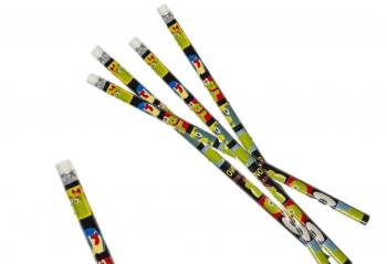 Bleistift mit Radierer Dino