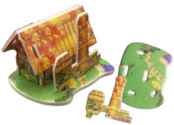 Haus 3D-Puzzle