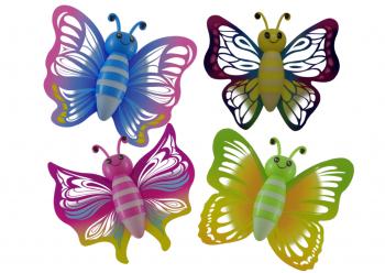 Fensterkletterer Schmetterling