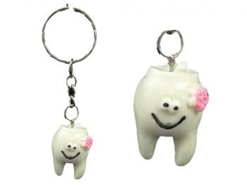 Schlüsselanhänger Zähnchen