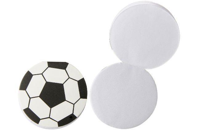 Notizblock Fussball Kinderzugabeartikel Kleinspielwaren
