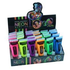Neon Gesichtsfarbe