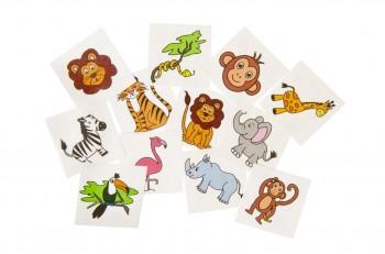 Tattoos-Wilde Tiere