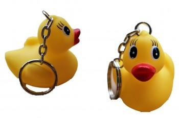 Schlüsselanhänger Vinyl Ente