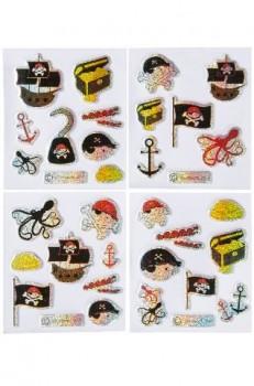 Piraten Glitzersticker