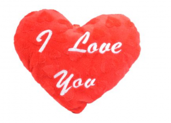 """Plüsch Herz """"I love you"""""""