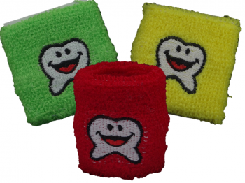 Schweißarmband Zahnmotiv