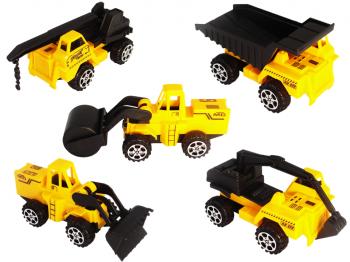 Gelbe Baufahrzeuge