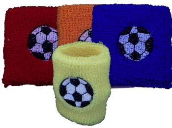 Schweißarmband Fussballmotiv