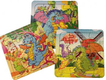 Puzzle Comic - Dino