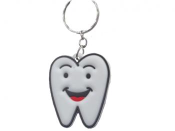 Soft Schlüsselanhänger Zahn