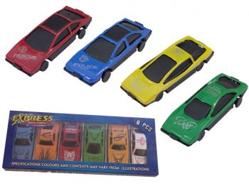 6er Set Autos