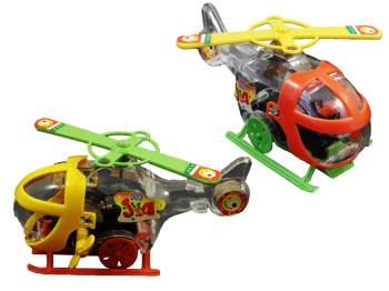 Helikopter mit Antrieb