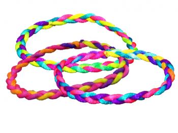 Geflochtenes Textilarmband
