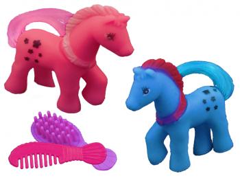 Kämm-Pony mit Bürste u. Kamm