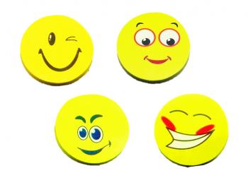 Radierer Smile