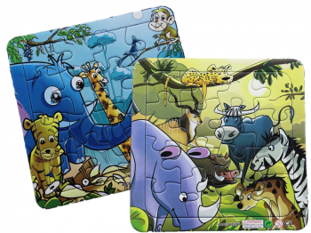 Puzzle Dschungel