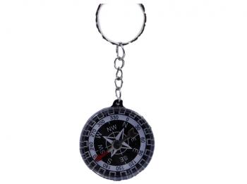 Kompass an Schlüsselkette
