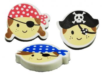 Piratenkopf- Radierer