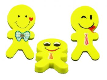 Radierer lachende Kinder