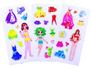 Mädchen Sticker