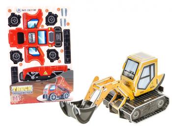 3D Puzzle Baufahrzeuge