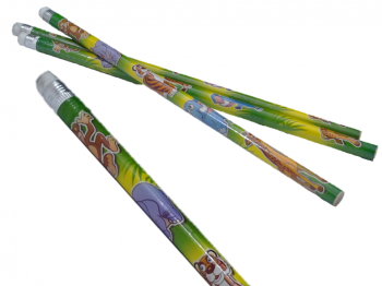 Bleistift-Safari mit Radierer