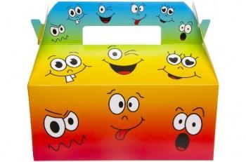 """Box """"lachende Gesichter"""""""