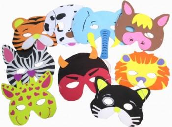 Masken aus Moosgummi