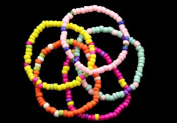 Perlenarmband 5 Farben