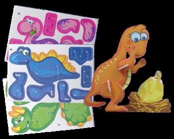 3D Puzzle Dino