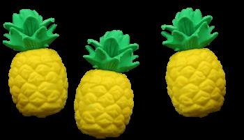 Radierer Ananas