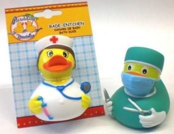 Bade-Entchen Krankenhaus