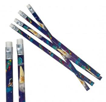 Bleistift mit Radierer Weltaum