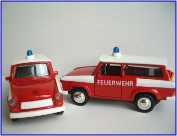 Feuerwehr-Trabi