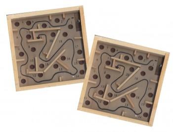 Holz Labyrinthspiel