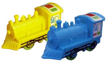 Lokomotive mit Rückzug