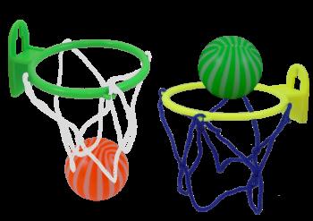 Basketball mit Netz