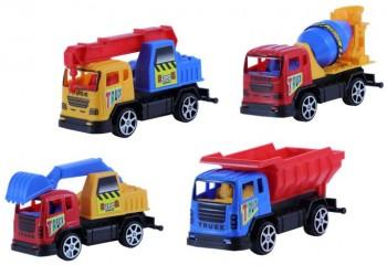 LKW Baustellenfahrzeuge