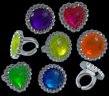 Ringe mit großen Diamant