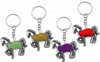 Pferd an Schlüsselkette